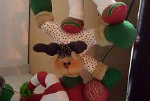 navidad muñecos