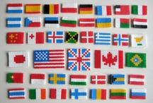 vlaggen kralen