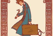 Fantastic Beasts with Newt Scamander