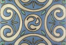 California Pottery Tile / California Pottery & Tile Works produces a broad array of tile designs including exquisite Persian, Islamic, Saracen, Spanish Colonial, and Mayan designs as well as classic floral designs of the historic Malibu & Catalina Potteries.