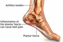 Foot Pain / Plantar fasciitis  / by Stephanie Ellis