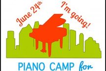 June Piano Camp for Piano Teachers / Join Us on June 24, 2016 in Houston, TX for a full day of inspiring teaching ideas to reinvigorate your studio!  Bring along the family and make it a mini-vacay!