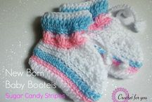 Crochet & Knit - Booties & Sandals
