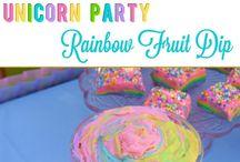 Adaline's First Birthday Party: Unicorns
