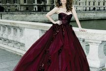 BlackRed ❤️ / L'abito da sposa in... 50 sfumature di Bordeaux