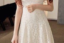 Krotkie biale sukienki