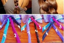 Braiding 4 pieces/ropes