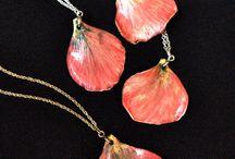 Ceramic Petal Jewellery ~ Rose, Magnolia, Blossom & Calla Lilly Jewellery By www.sonyaceramicart.com