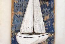 Boat frame / Legno marino