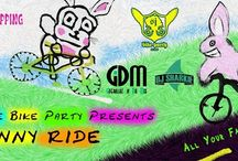 The Bunny Ride April 2015 / San Jose Bike Party presents the Bunny ride