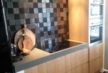 HOUTCUISINE Eiken keukens / HoutCuisine levert op maat gemaakte keukenfrontjes voor het IKEA Metod keukensysteem. Door Ikea te combineren met maatwerk krijg je een betaalbare exclusieve keuken in jouw stijl. www.houtcuisine.nl