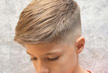 Boys hair