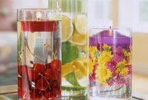 Frugal Decor from Clear Glass / by Frugal Decorating Diva