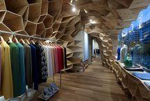 Arquitetura | Comércio | Store Design / Pontos de venda | Comércio | Varejo | Retail | PDV