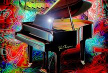 """Jazz Art / """"Music gives a soul to the universe, wings to the mind, flight to the imagination and life to everything.""""  ― Plato"""