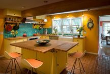 kitchen - lots of color