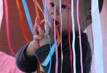 Young children sensory ideas