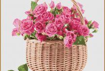Cross Stitch flowers / Cross Stitch Pattern flowers