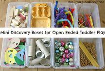 Discovery Boxes & Sensory Bins