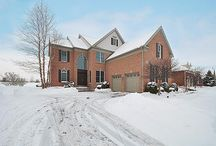 Sold - 53 Tournament Drive S - Hawthorn Woods, IL 60047 / $549,000 - Beautiful HWCC home with dazzling curb appeal & sweeping golf course views. Imagine walking into Brazilian cherry hardwood floors, plantation shutters, roman columns, dual-view fireplace, 3 season room & built-ins with detailed moldings. Gourmet kitchen is a pleasure to prepare meals while overlooking the brick patio & golf course. Central vac, heated garage, finished basement with rec room, full bath & 4th bedroom.