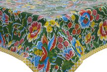 Floral Tablecloths