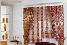 Unique curtain designs for living room window decorations / Unique curtain designs for living room window decorations