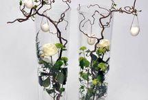 crea met planten bloemen
