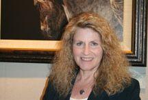 Wildlife art: Judy Larson / www.artifactsgallery.com