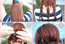 Must Try Hairstyles / by Tamara English