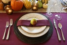 Thanksgiving Ideas/Fall Decorating / One of my most favorite times of year!!