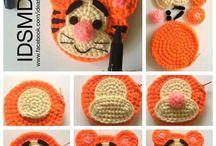 キャラクター編み物