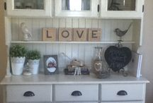 Shabby timber hutches  / Hutches !!!