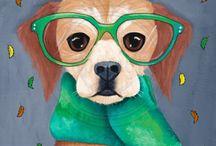 Perros arte