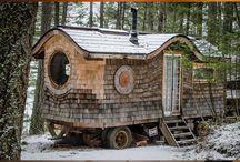 Tiny Houses on Wheels / Begleitend zu unserem Anhänger-Ausbau