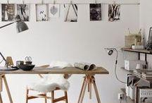 Çalışma/oturma odası