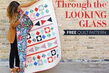 Free Patterns / Tons of free modern quilt patterns for all sewing levels.