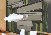 GLAMORA -  COLOR IN-SIGHT BY ANDREA CASTRIGNANO - / İtalya'nin ünlü dizayn stüdyolarının onayladığı desenlerle birlikte ünlü tasarımcı Karim Rashid'in desenlerini de içeren, verilen ölçülere göre desenlerin özel olarak ayarlandığı, ipek ve keten hissi veren vinil dokulu duvar kağıtlarına olarak yüksek baskı kalitesiyle üretilen duvar kağıdı http://www.hdgroup.com.tr/urunler.aspx?iid=309
