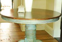 Pastell / Möbler och inredning i pasteller