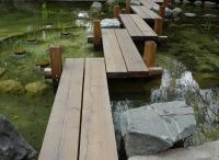 Puutarhan sillat - garden bridges