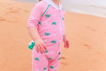 Sun Protection for Baby / Sun Protection clothing and UV swimwear for babies from sun emporium and platypus of Australia.