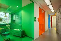 Commercial spaces and color
