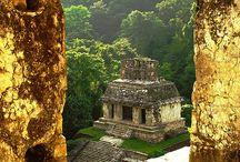 Sitios Arquelógicos de Mexico / Ruinas Arqueológicos de la República Mexicana