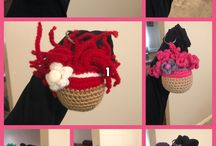 Crochet keychains / Check out these cute crochet keychains..