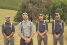 Wedding groom and groomsmen  / Outfits