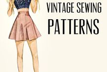 Sewing patterns and tutorials