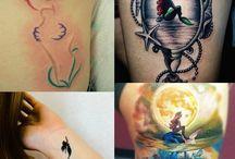 Meerjungfrau und Tattoos