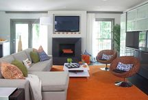 family room ideas / by Kristen Peden