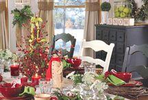 Christmas ~ Table Settings