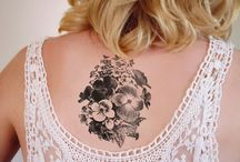 Tattoo Violet Flower