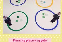 eyfs doubling, halving, sharing